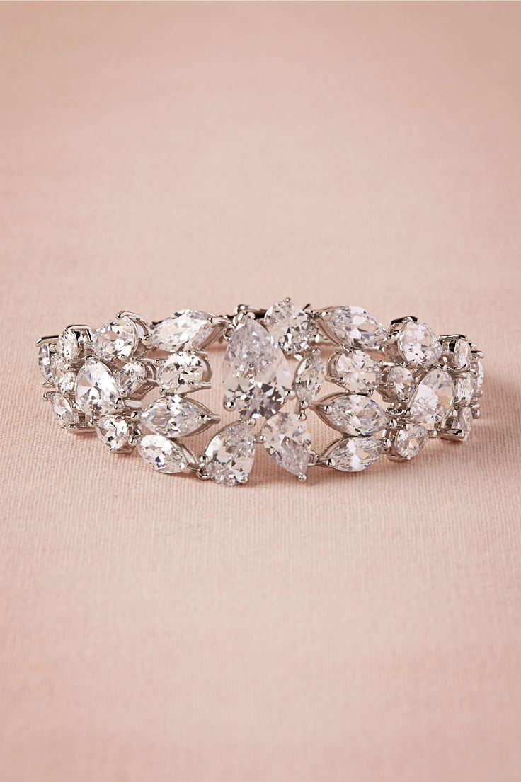 Blakely Bracelet... Imagine this as a ring, would be a pretty ...