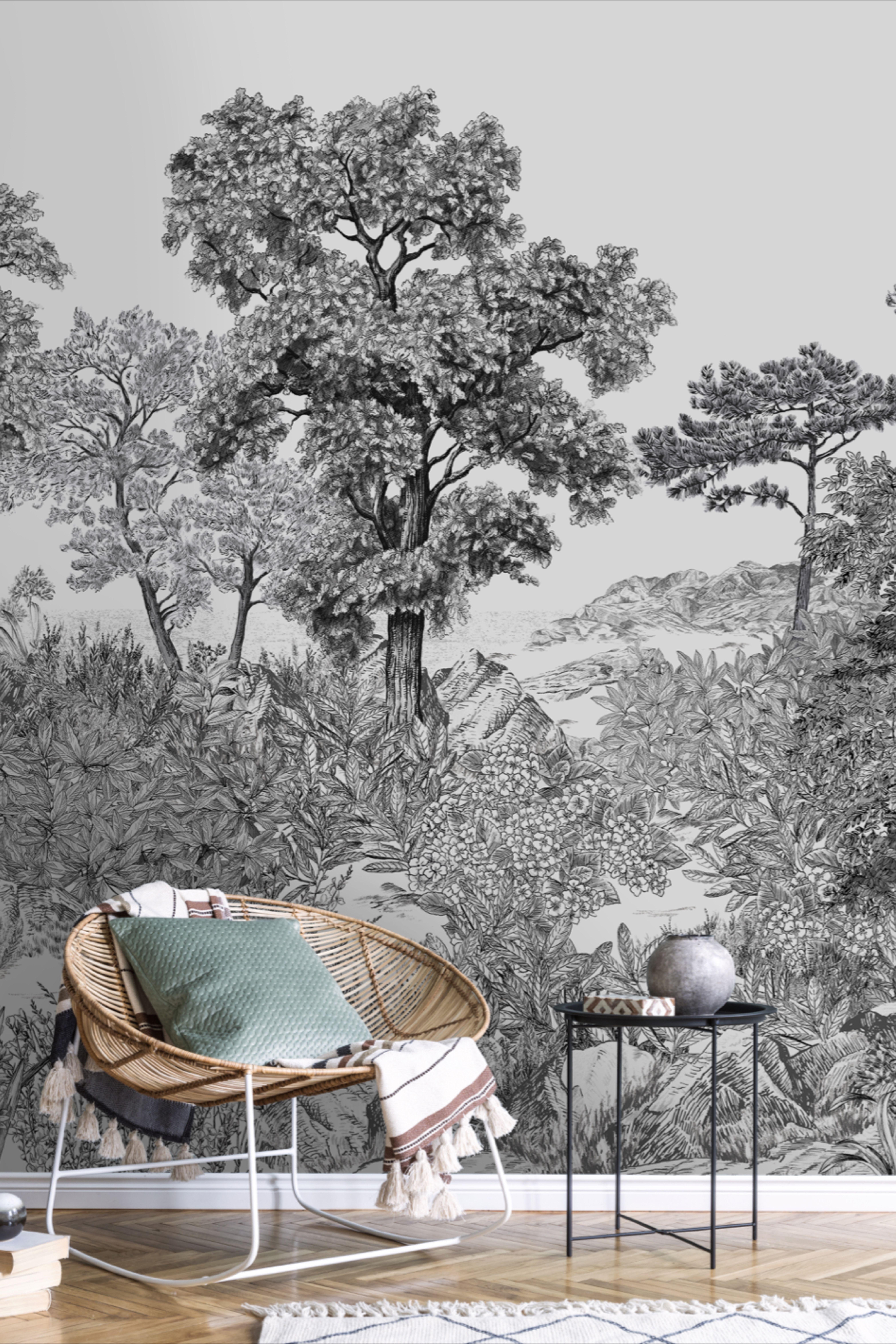 Papier Peint Panoramique Paysage forÊt de bretagne naturel en 2020 | papier peint panoramique