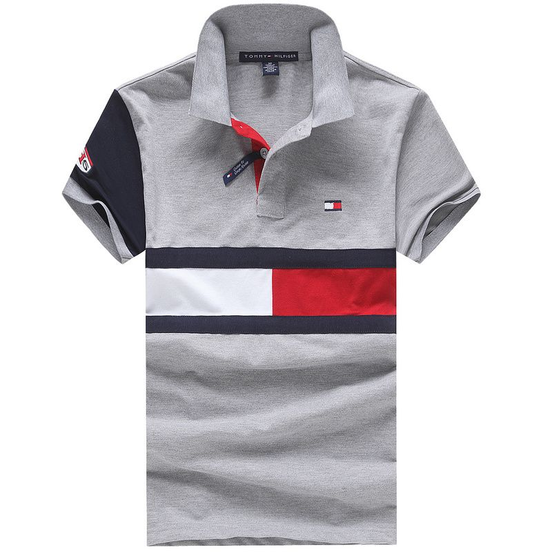 Tommy Hilfiger Polo Shirts Men Short  0eb89313efafe