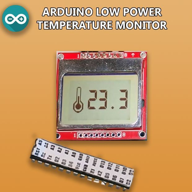 Low Power Arduino Temperature Monitor Pictures Of