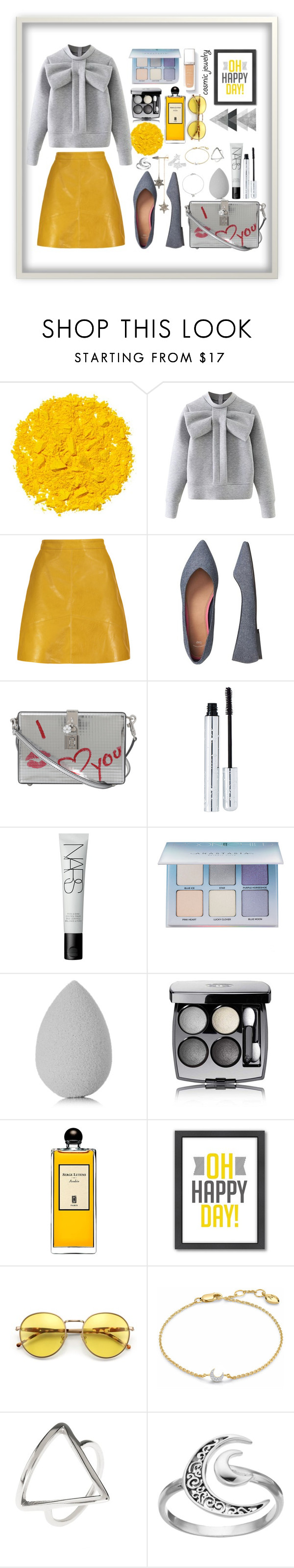 """""""Sans titre #56"""" by sarahmartens2 ❤ liked on Polyvore featuring Illamasqua, WithChic, Gap, Dolce&Gabbana, 100% Pure, NARS Cosmetics, Anastasia Beverly Hills, beautyblender, Chanel and Serge Lutens"""
