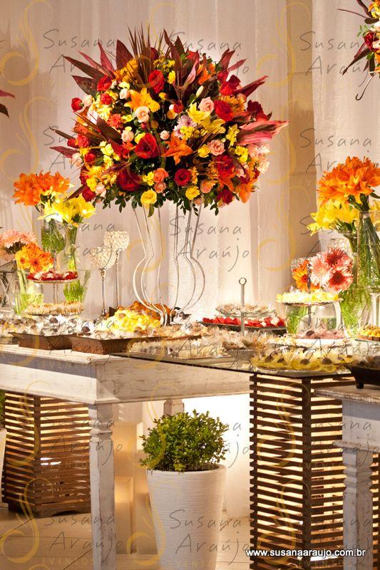 Super arranjo flores para casamento vermelho e amarelo - Pesquisa Google  TQ69