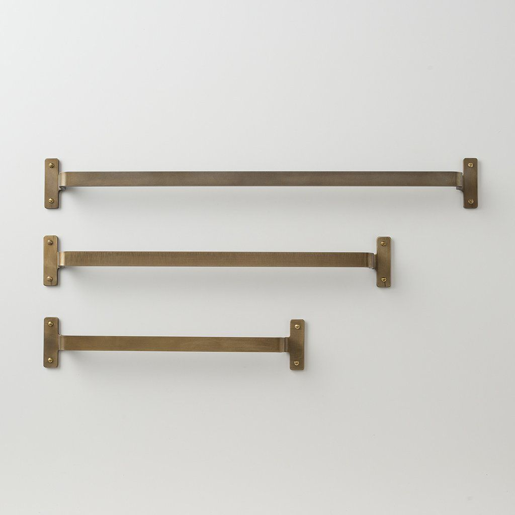 Brass Towel Bar Towels Bar and Schoolhouse Electric