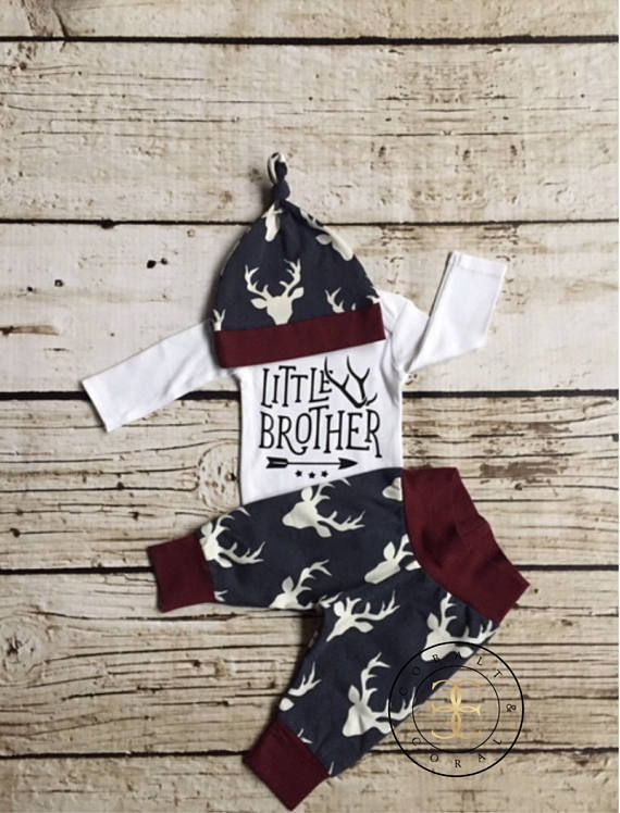 Photo of BABY BOY Coming Home Outfit/Baby Boy/Baby Shower Gift/Newborn Boy Coming Home Outfit/Baby Boy Clothes/Baby Hat/Baby Gift/Woodland/New Mom