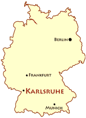 Karlsruhe Map Of Germany.Visit Karlsruhe A Black Forest Gem Germany Karlsruhe Black