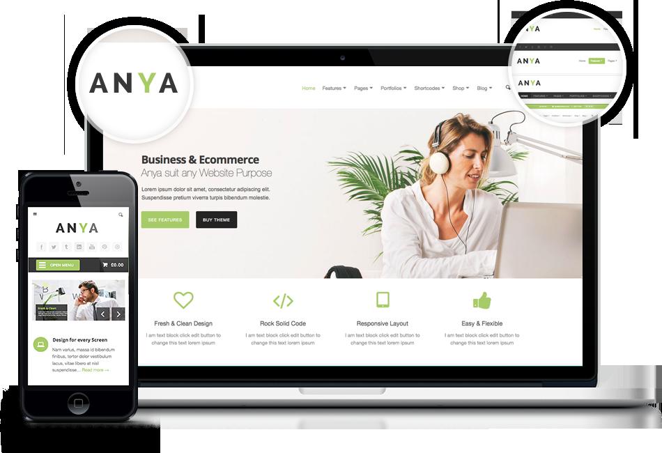 ANYA – Demo1 | Business And Ecommerce Wordpress Theme | WordPress ...