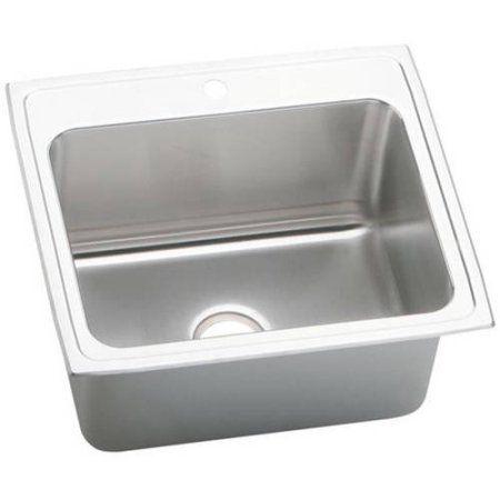 Home Improvement Sink Top Mount Kitchen Sink Single Bowl