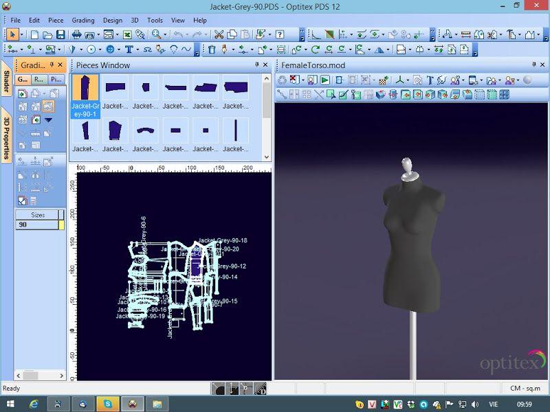 Tài Liệu Hướng Dẫn Sử Dụng Optitex PDS |CongNgheMay.info | pattern ...