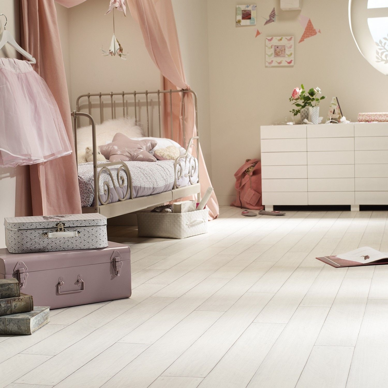 Platinum Virgin White Wood Vinyl Flooring