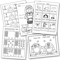 A Kindergarten Pacing Guide for the Common Core- Freebie