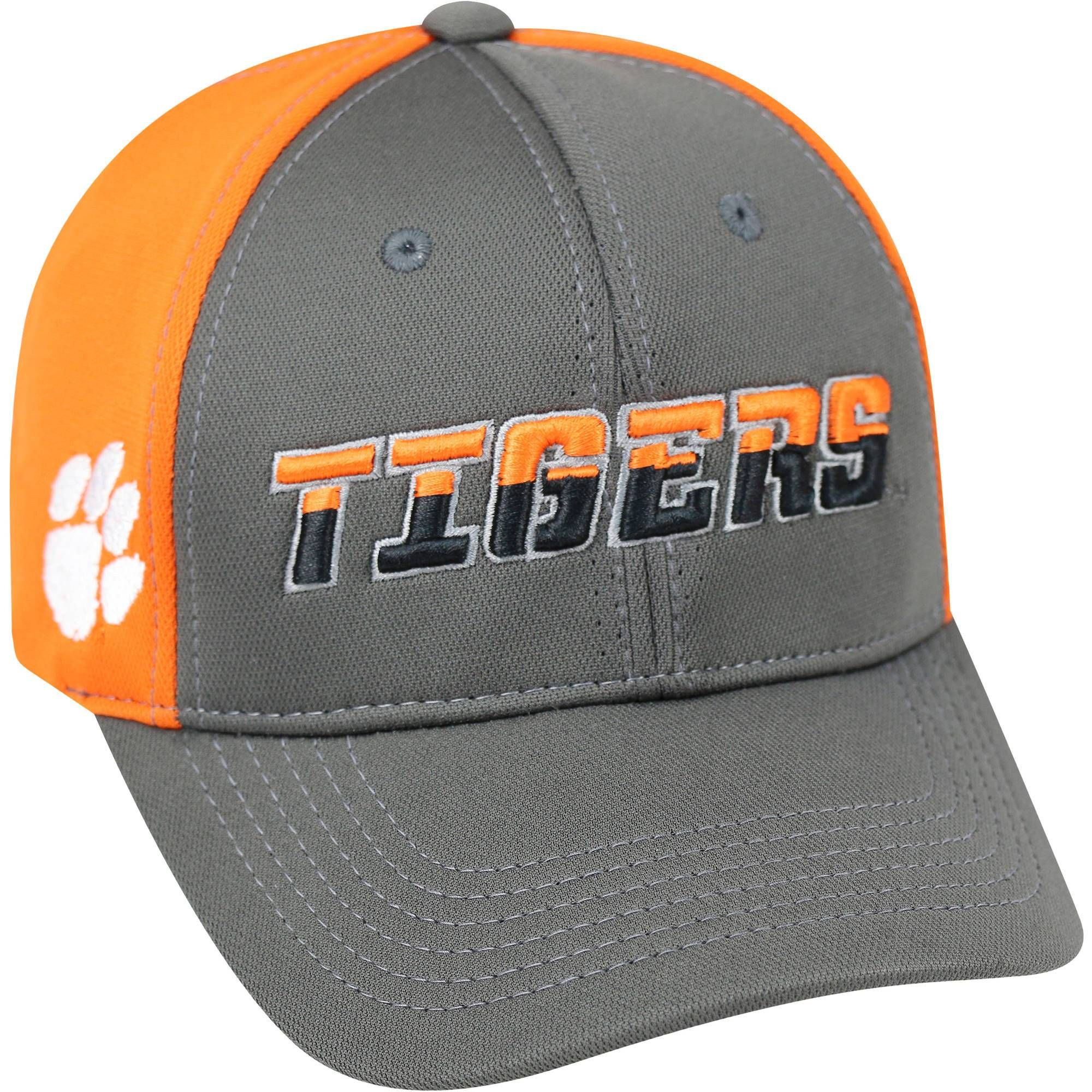 058be09fbd8 Clemson Tigers NCAA Mens Adjustable Ball Cap Hat - Orange Gray in ...
