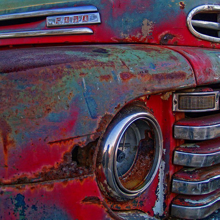 Rusty Ford by Brian Mollenkopf