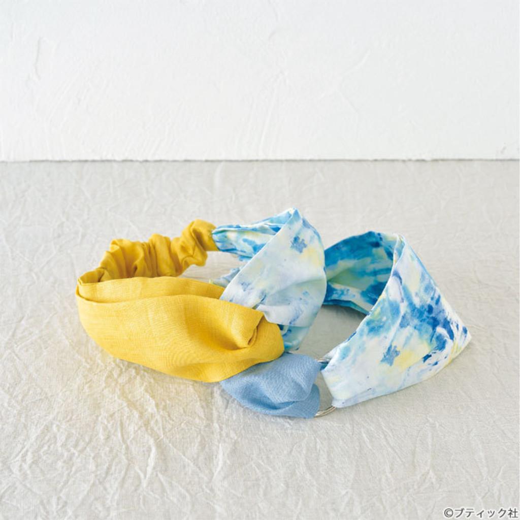 手縫いで簡単に作れる 夏におすすめのヘア ターバンの作り方 ヘア