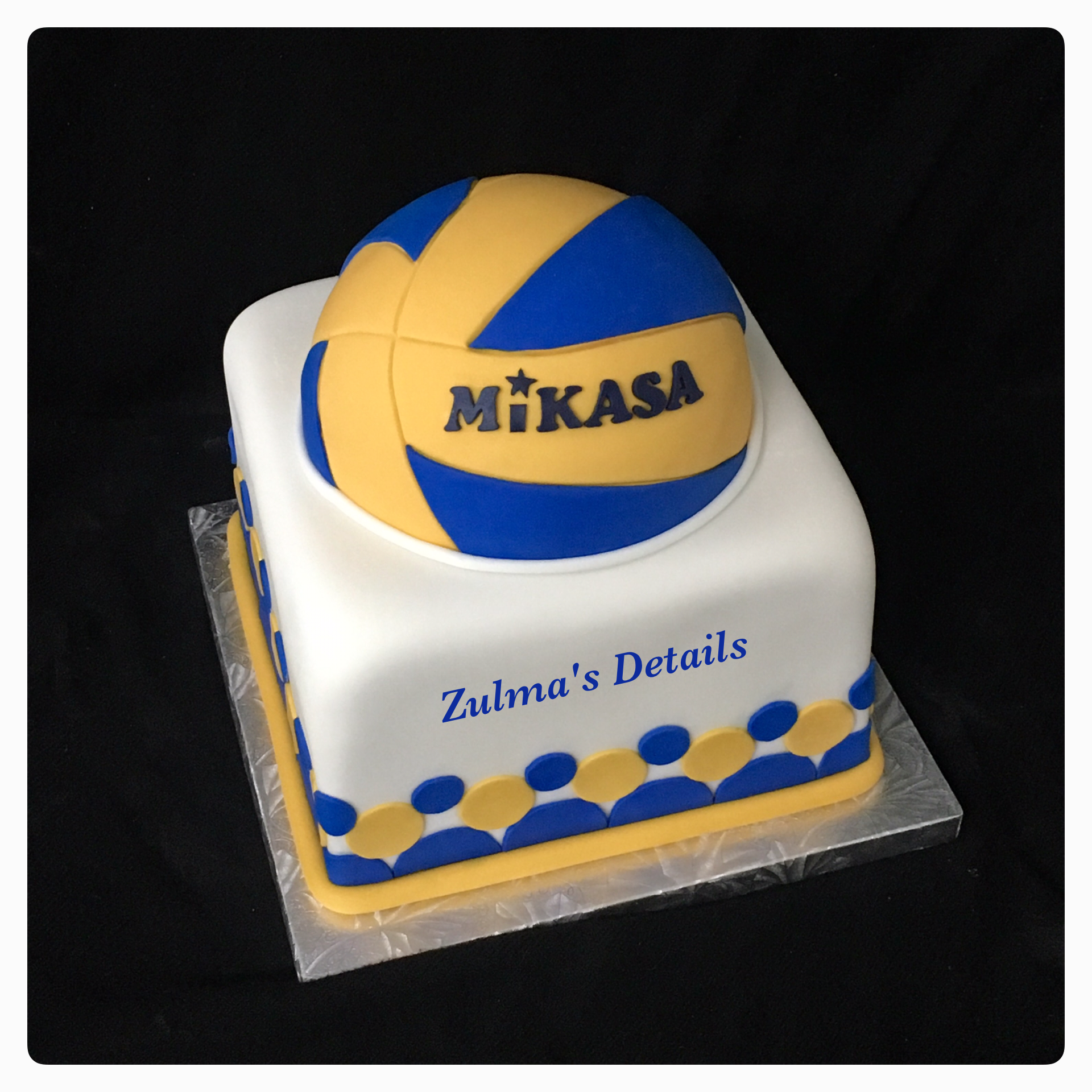 Mikasa Volleyball Cake Volleyball Cakes Oreo Cake Custom Cakes