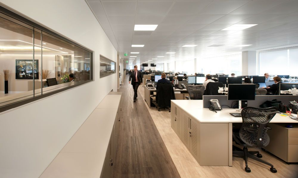 Merchant Banking Company, Office Supplied by Rainbow Office Design