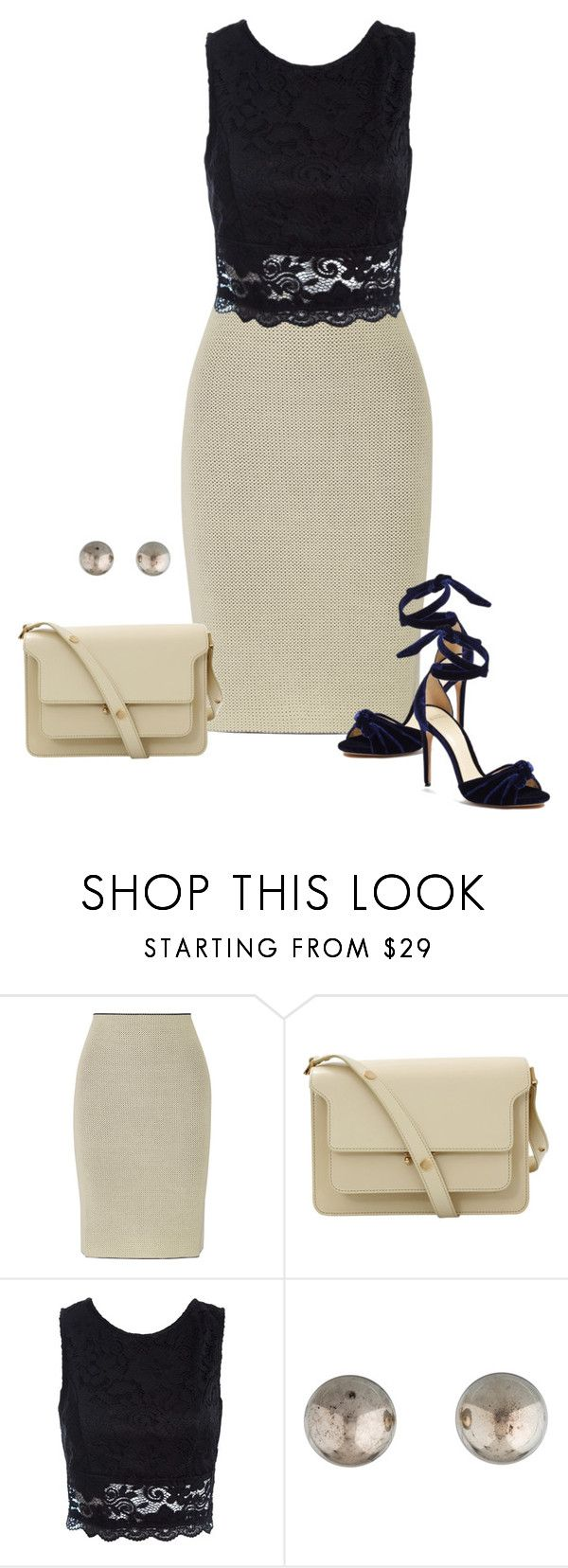 """""""Sem título #665"""" by soniamazeto ❤ liked on Polyvore featuring Calvin Klein Collection, Marni, Sans Souci, Tiffany & Co. and Alexandre Birman"""
