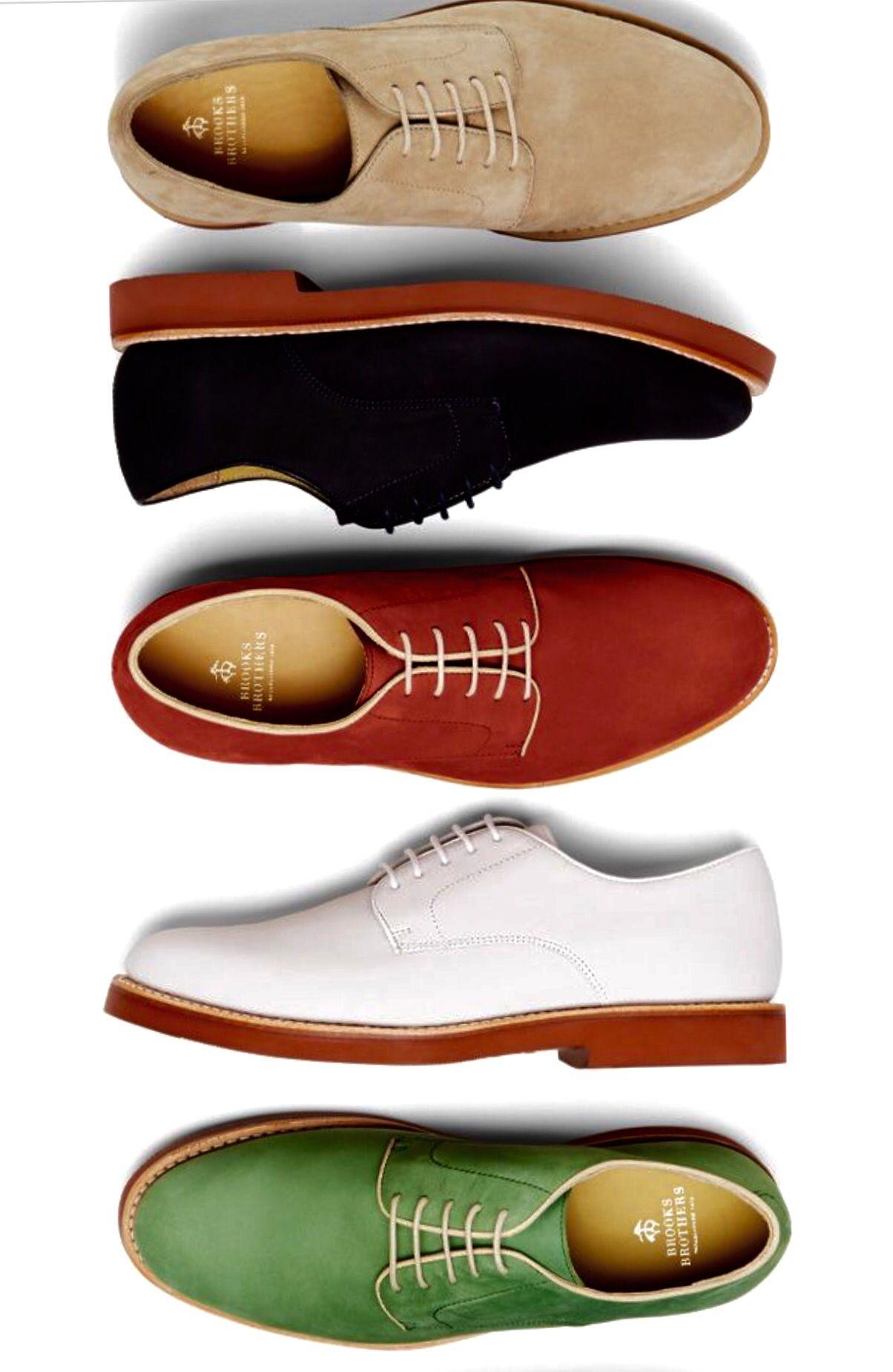 5ed94f553f0ca Brooks Brothers - Classic buckskin oxford shoes | Shoes | Mens ...