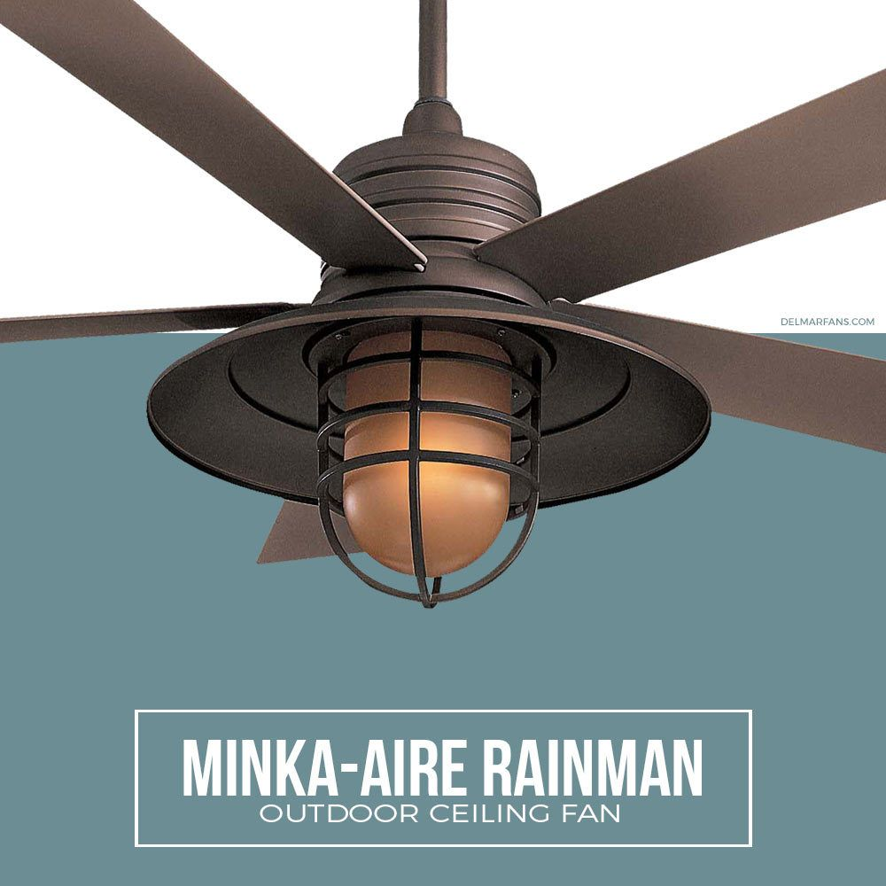 Nautical Ceiling Fans Like The Minka Aire Rainman Feature An Authentic Seaside Getaway Aesthetic