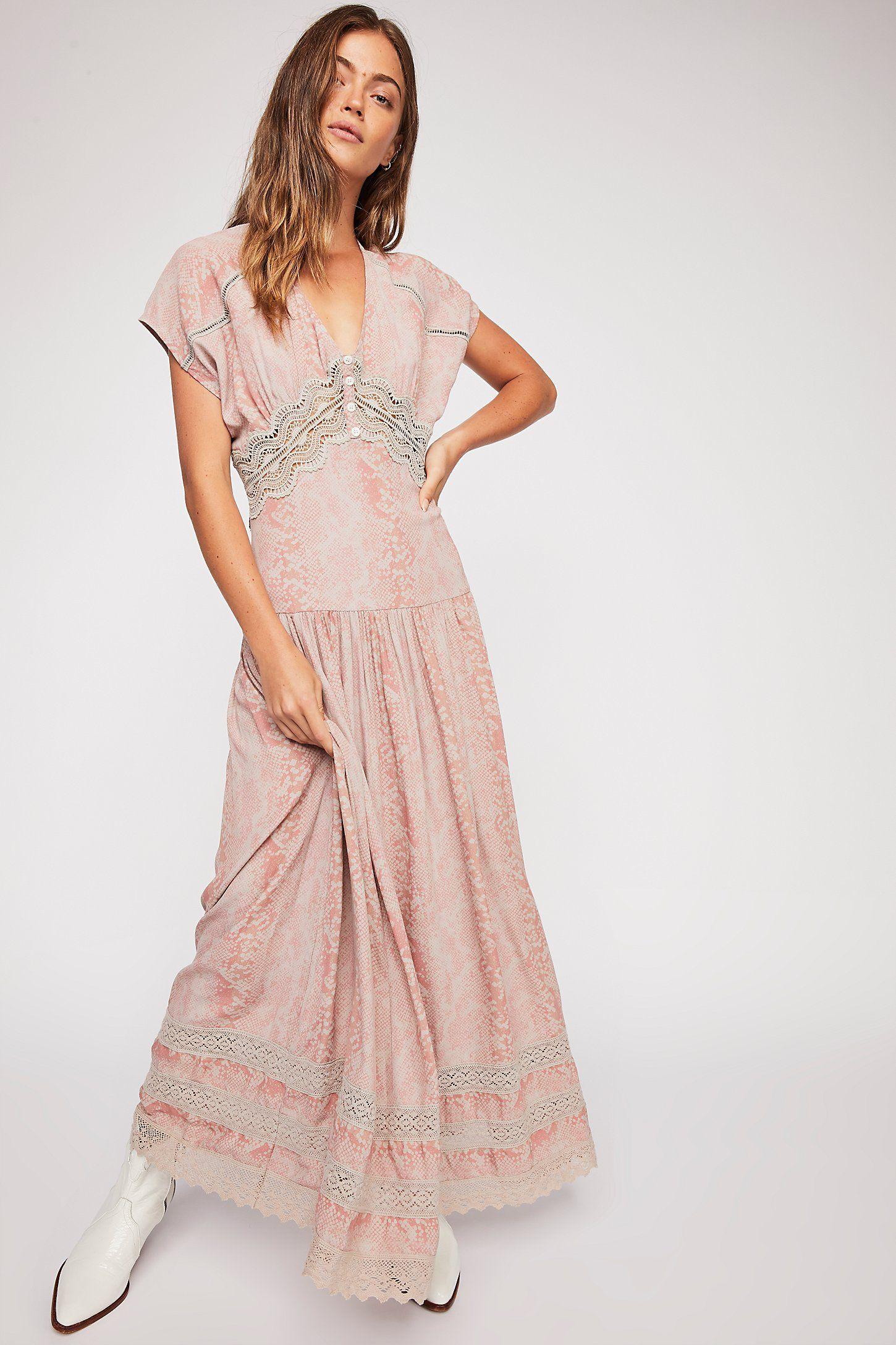e21808dea37d3 Prairie Flower Maxi Dress | Mimicry | Dresses, Free people dress ...