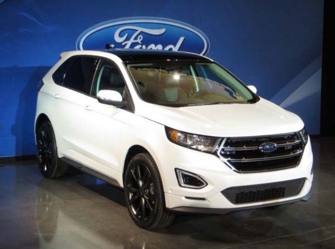2017 Ford Ecosport Front View Cars Pinterest Ford