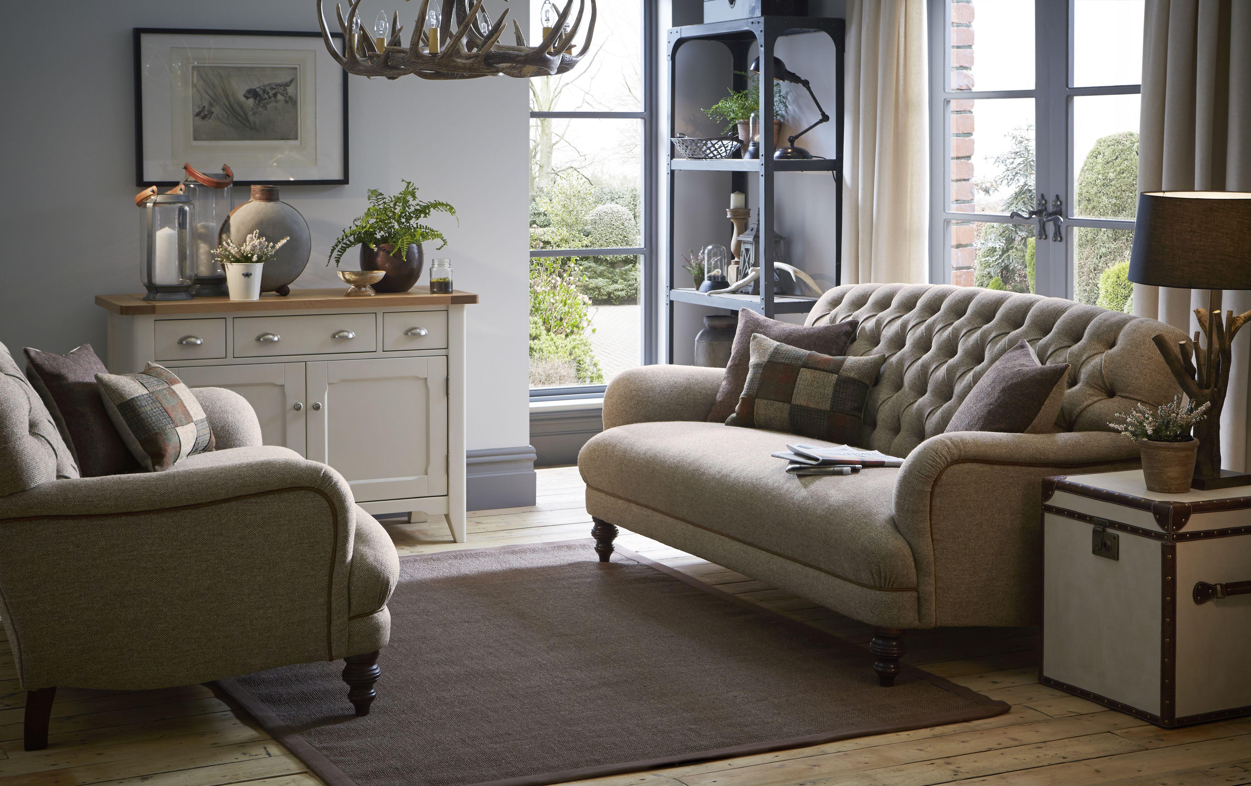 sofa harris tweed