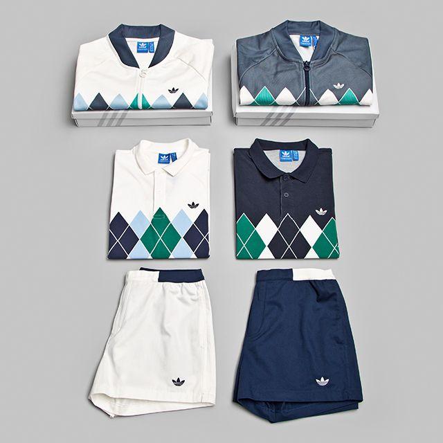 adidas argyle polo shirt