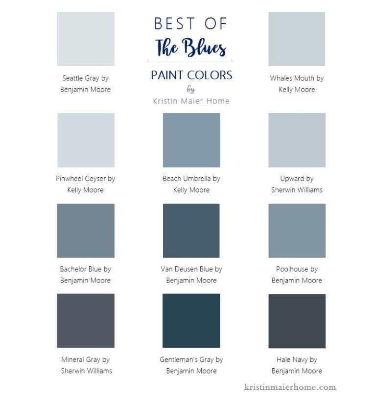 Favorite Blue Paint Colors Kristin Maier Home Sherwin Williams Blue Paint Blue Gray Paint Colors Blue Paint Colors