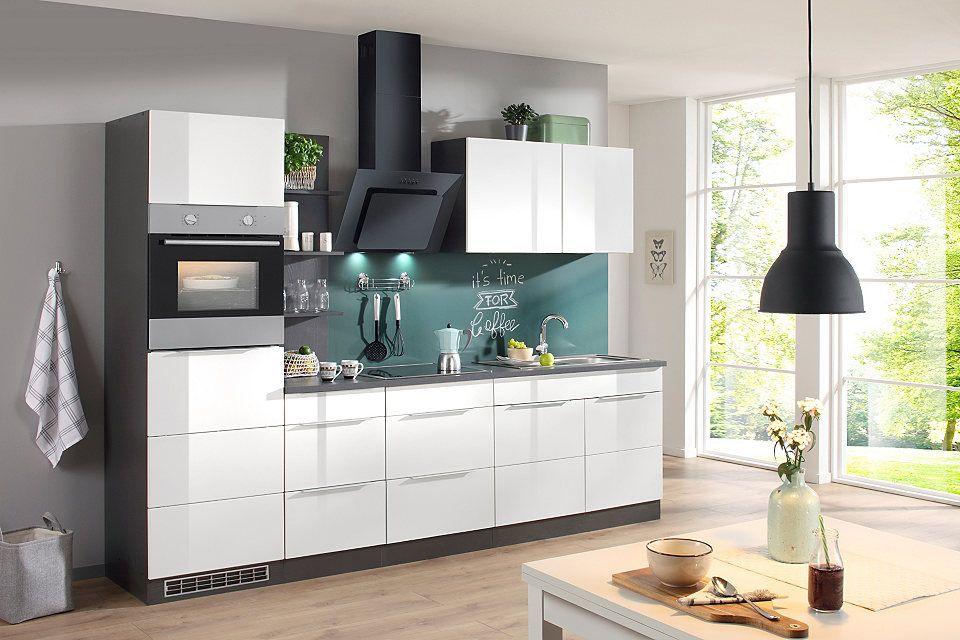 Küchenzeile mit E-Geräten »Brindisi, Breite 280 cm« Jetzt ...