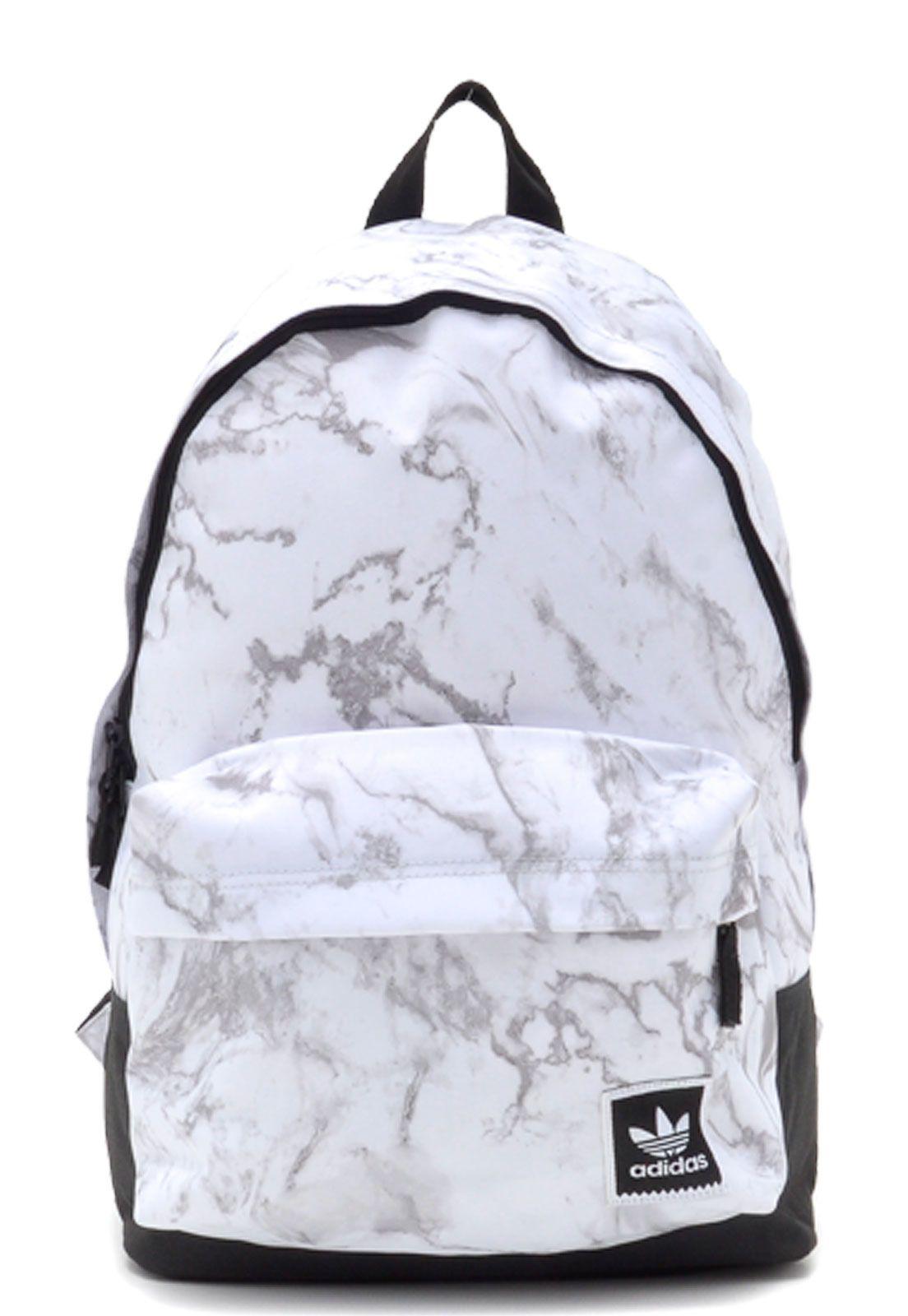 Mochila adidas Skateboarding Aop Backpack Branca em 2020