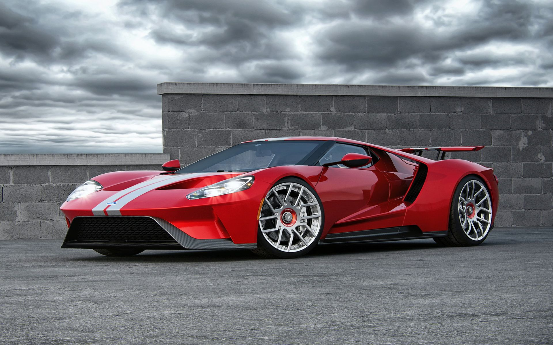 Ford Gts Old And New Try On Wheelsandmores Carbon Fiber Rims Carscoops