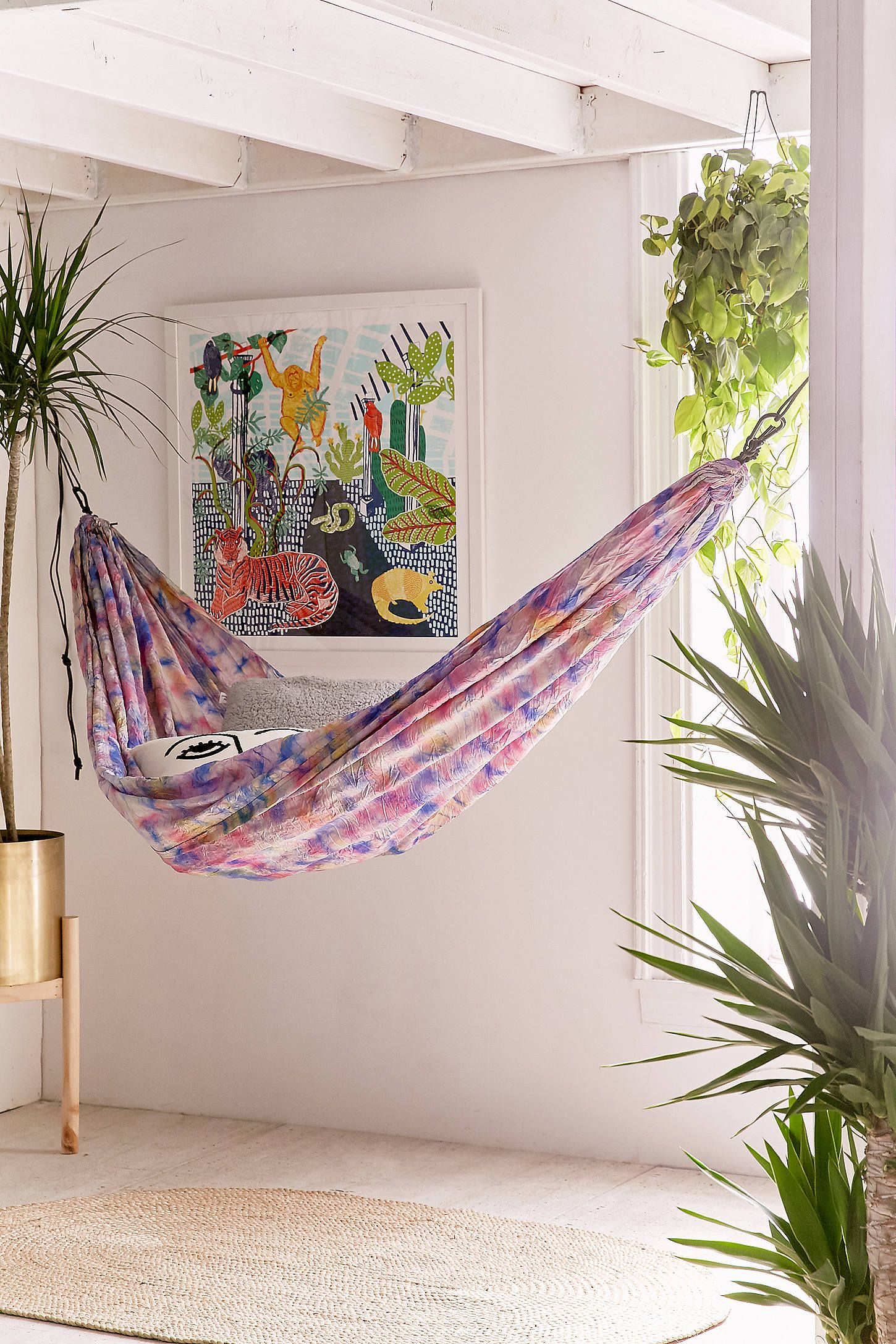 Grand trunk tiedye packable hammock spare room room and house