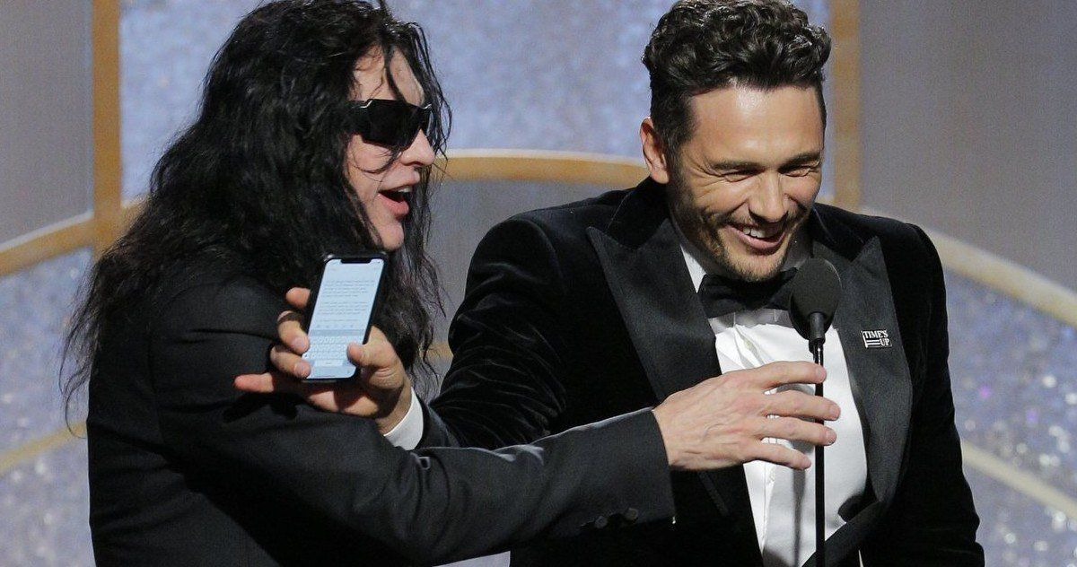 What Tommy Wiseau Wanted to Say at Last Night's 'Golden