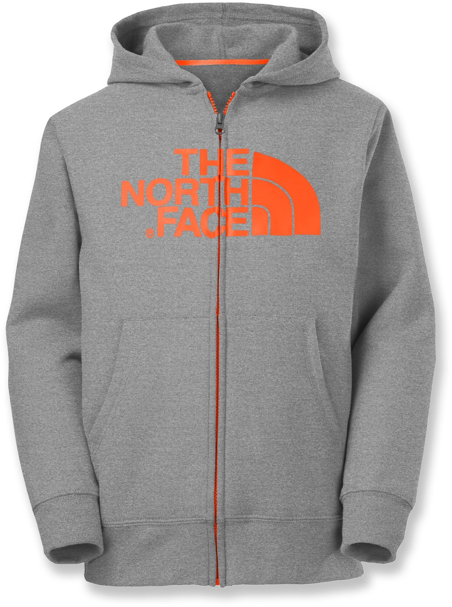 e818c40b8 The North Face Male Half Dome Full-Zip Fleece Hoodie - Boys ...