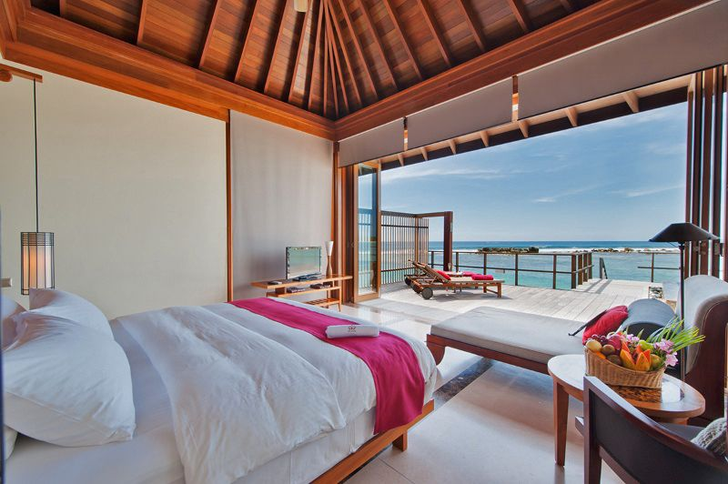 Water Villa, Paradise Island Resort & Spa | Beach house interior design, Paradise  island resort maldives, Maldives hotel
