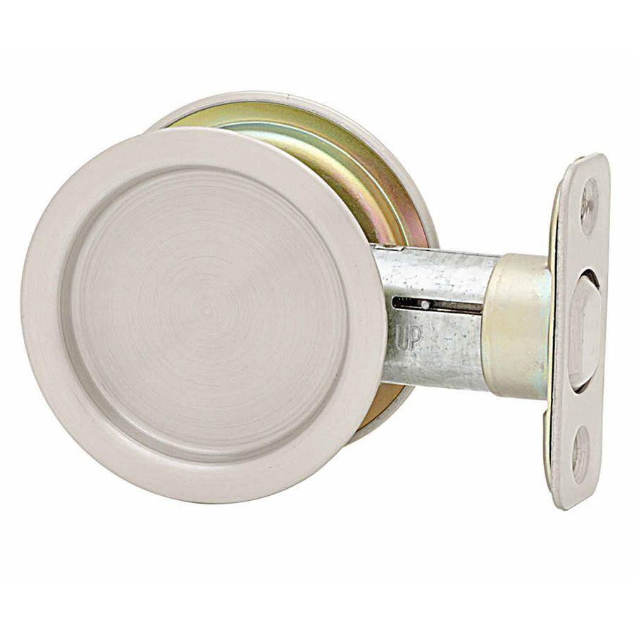 Incroyable Stanley National Hardware 2.125 In Satin Nickel Passage Pocket Door Pull