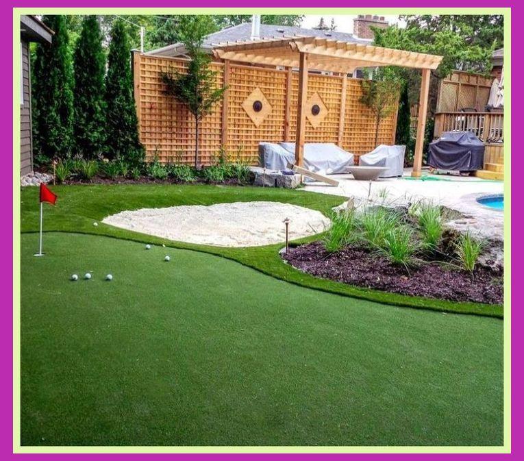 Backyard putting green | Home Putting Green | Mini Golf ...