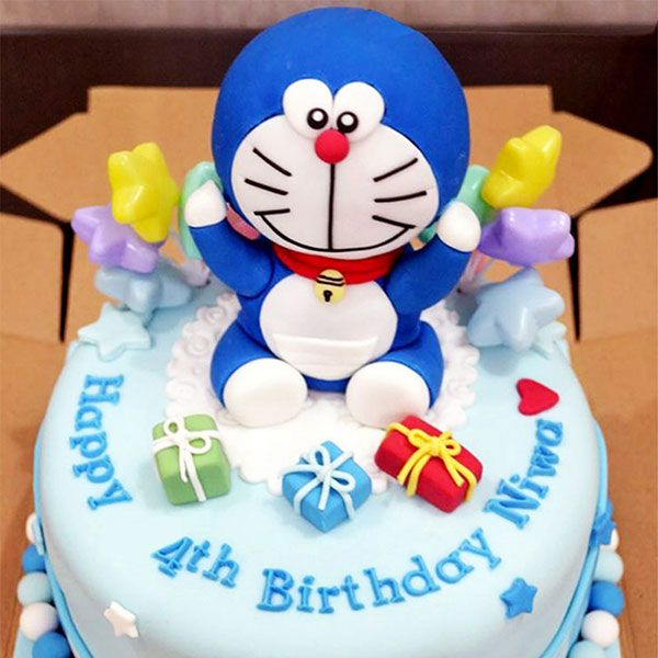 50 Torte di Doraemon in Pasta di Zucchero (PDZ)