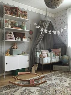 """There are a handful of reasons you might not want to push the color pink on your little girl, and chief among them might possibly just be """"I don't like pink."""" Shopping in the kids department might have you thinking that your only choice in girls' decor is between """"blush"""" or """"petal pink,"""" but these 12 rooms can show you differently."""