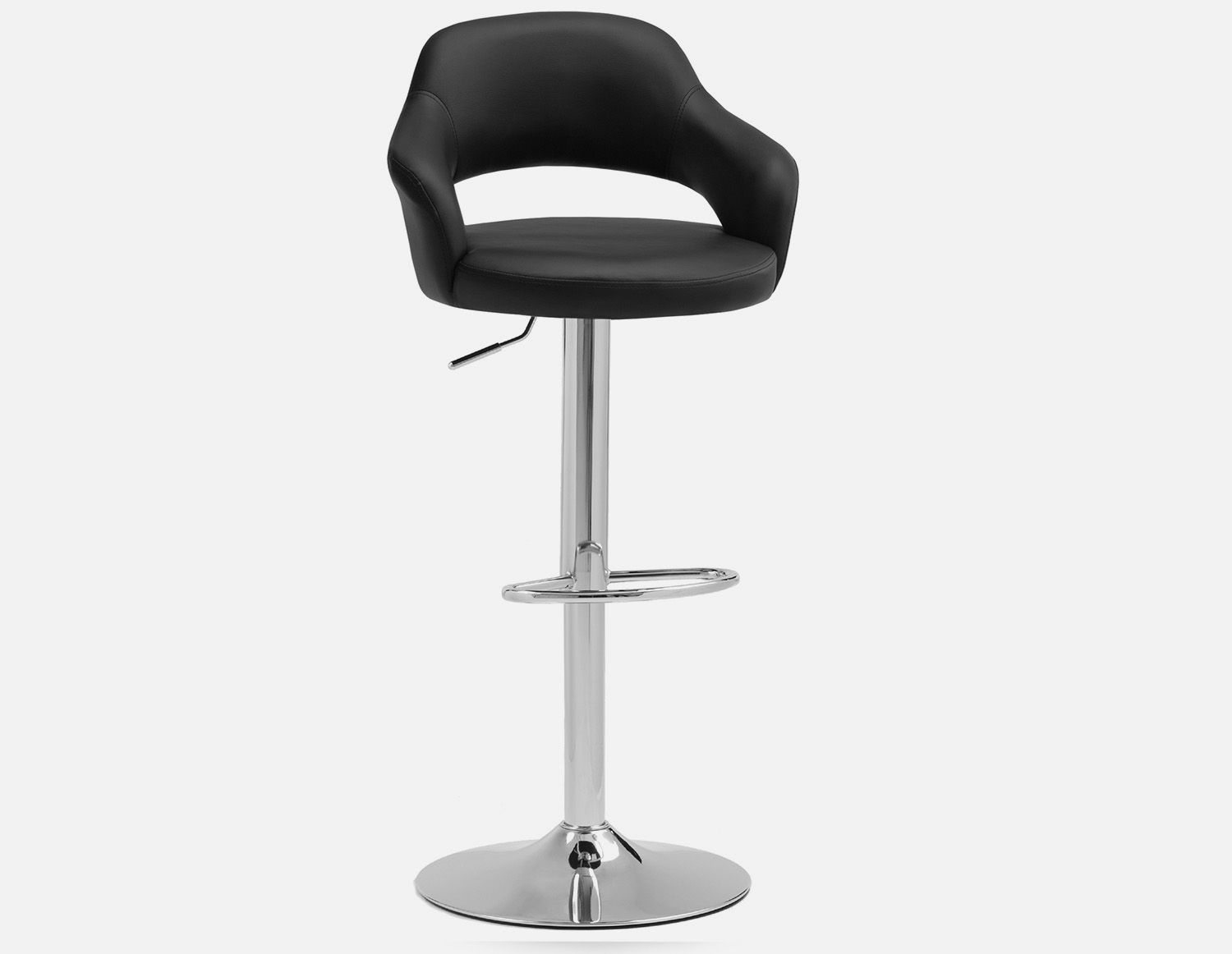 Super Riko Black Adjustable Stool 87Cm To 109Cm Products In 2019 Caraccident5 Cool Chair Designs And Ideas Caraccident5Info