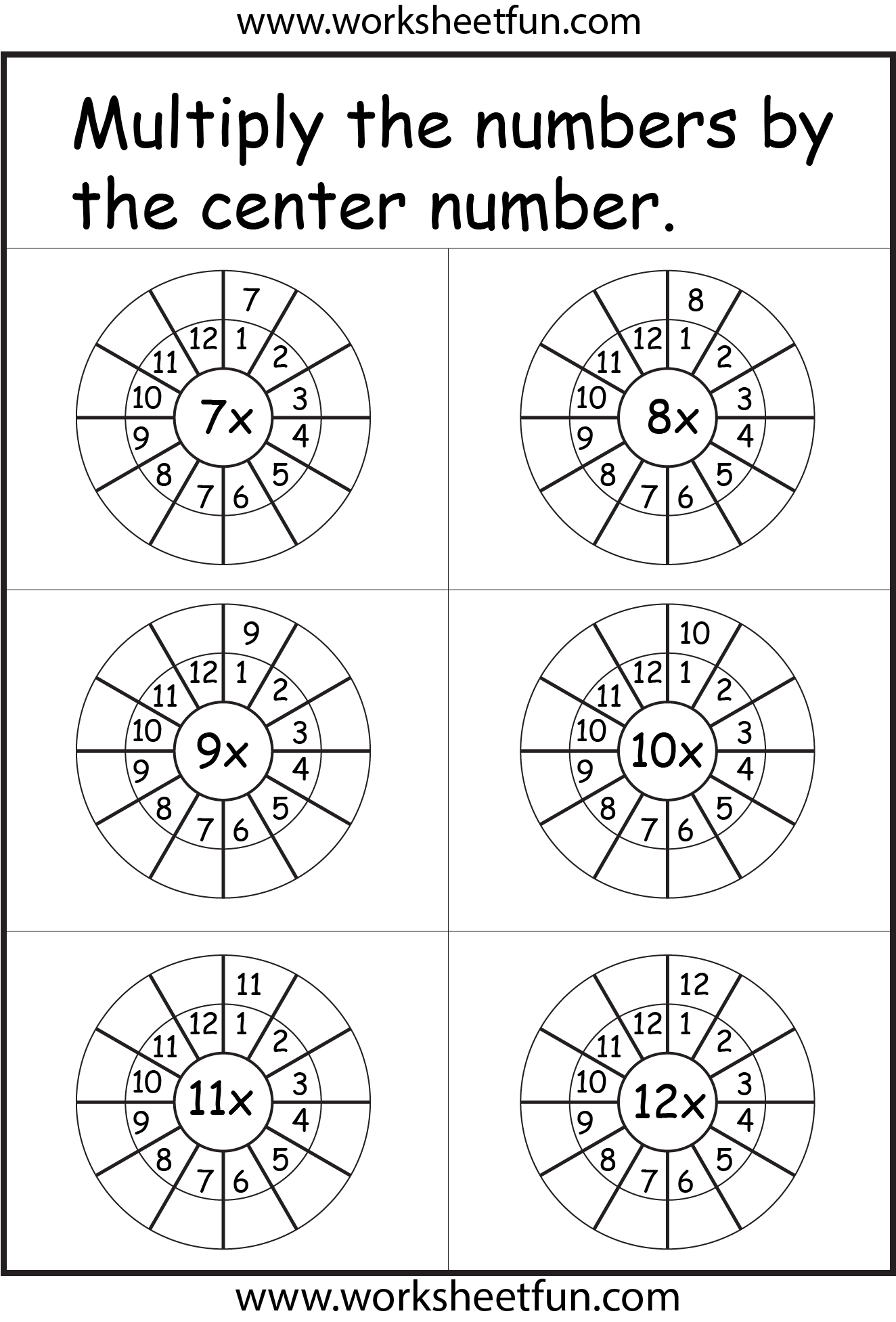 Times Table With Images