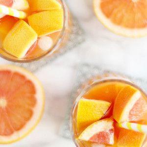 Eistee Cocktail mit Grapefruit und Inger 4