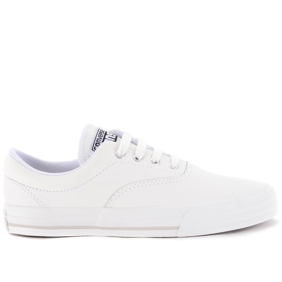a23ed164165 Tênis Converse Cons Skateboard Skidgrip CVO Leather Ox Branco CR340002