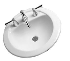 How To Install A Drop In Bathroom Sink With Images Sink Drop