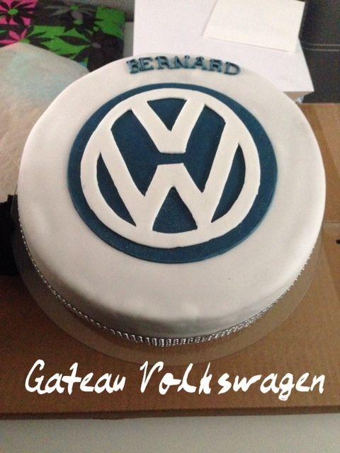 Gâteau anniversaire Volkswagen , Bidoudeuse \u0026 Cia Lda