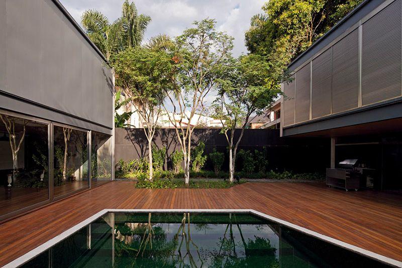 Bacopari House by UNA Arquitetos, São Paulo, Brazil | Yellowtrace.