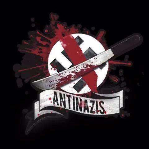 Mochila saco «Logotipo antinazi» de s0c001   Redbubble