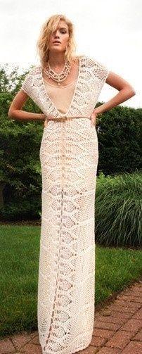 Weird Knitted Dresses