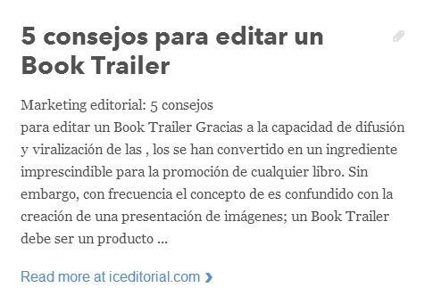 Marketing editorial: 5 consejos para editar un Book Trailer