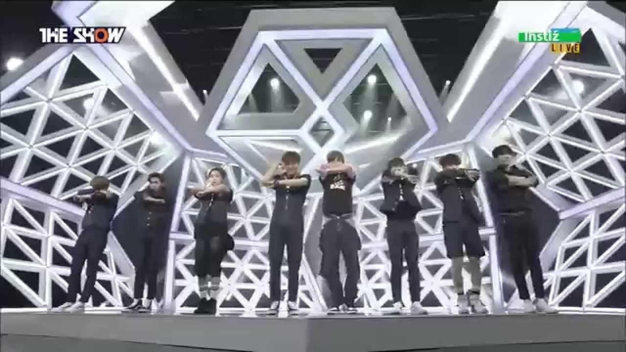 150428 EXO (엑소) - Call Me Baby (콜 미 베이비) @ The Show