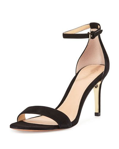 TORY BURCH Tory Burch Keri Suede Ankle-Strap Sandal.  toryburch  shoes   sandals